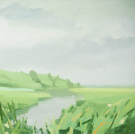 <div class=&#34;artist&#34;><strong>Sara MacCulloch</strong></div><div class=&#34;title&#34;><em>Marsh</em>, 2014</div><div class=&#34;medium&#34;>oil on canvas</div><div class=&#34;dimensions&#34;>48 x 48 in.</div>