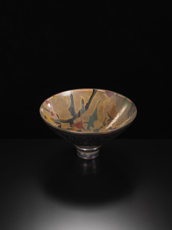<span class=&#34;artist&#34;><strong>Sutton Taylor</strong><span class=&#34;artist_comma&#34;>, </span></span><span class=&#34;title&#34;>Early Large Golden Bowl<span class=&#34;title_comma&#34;>, </span></span><span class=&#34;year&#34;>c1980s</span>