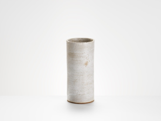 Lucie Rie, Cylindrical Vase, c1970
