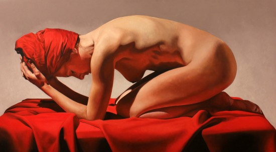 <span class=&#34;artist&#34;><strong>Toby Boothman</strong></span>, <span class=&#34;title&#34;><em>Girl On Red</em></span>