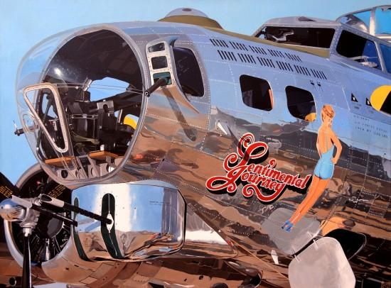 <span class=&#34;artist&#34;><strong>Luis Perez</strong></span>, <span class=&#34;title&#34;><em>B-17 Sentimental Journey</em></span>