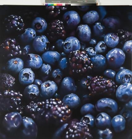 <span class=&#34;artist&#34;><strong>Ben Schonzeit</strong></span>, <span class=&#34;title&#34;><em>Black and Blue Berries</em></span>