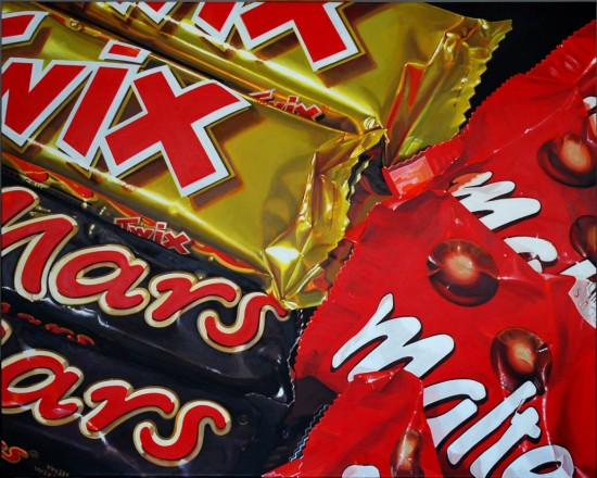 <span class=&#34;artist&#34;><strong>Cynthia Poole</strong></span>, <span class=&#34;title&#34;><em>The Twix Mars Malteser Divide</em></span>