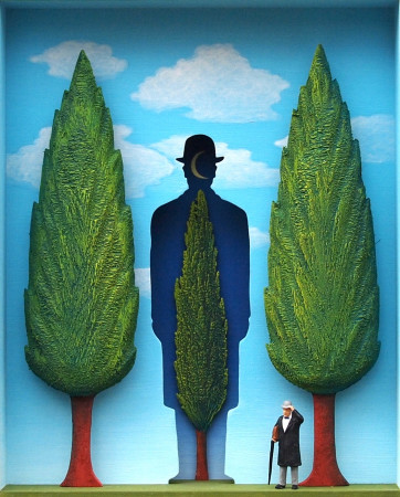 <span class=&#34;artist&#34;><strong>Volker Kuhn</strong></span>, <span class=&#34;title&#34;><em>The Garden of Magritte </em></span>