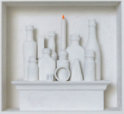 <span class=&#34;artist&#34;><strong>Volker Kuhn</strong></span>, <span class=&#34;title&#34;><em>Homage to Morandi </em></span>
