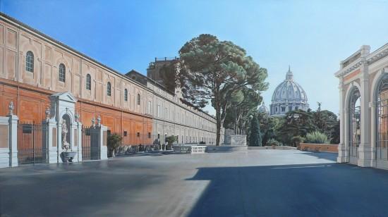 <span class=&#34;artist&#34;><strong>David Wheeler</strong></span>, <span class=&#34;title&#34;><em>Tutto Passa (Vatican Museum, Rome)</em></span>