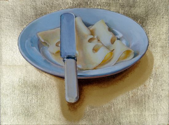 <span class=&#34;artist&#34;><strong>Cynthia Poole</strong></span>, <span class=&#34;title&#34;><em>Plate of Cheese</em></span>