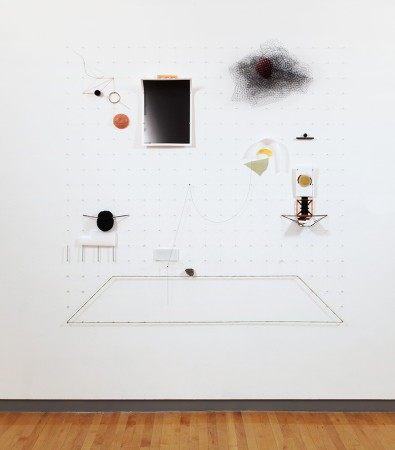<p>Irmak Canevi,&#160;<i>If Burkhard Heim Suspects That One Shouldn&#8217;t Fly But Fall, He May Prove Right</i>, 2015</p><p>Mixed media, 72 x 72 in.</p><p>cane001</p>