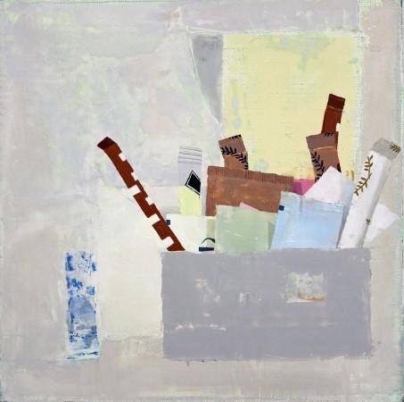 <p><b>Sydney Licht</b><br /> <i>Still Life with Sugar Packets</i>, 2015&#160;&#160;&#160;&#160; <br /> Oil on linen<br /> 12 x 12 in.&#160;</p>