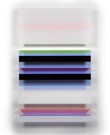 <p><strong>Christian Haub</strong></p><p><i>Roy Orbison Float</i>, 2013<i>&#160;&#160;&#160;&#160;&#160; </i></p><p>Cast acrylic sheet</p><p>80 x 48 x 4.5 inches</p>
