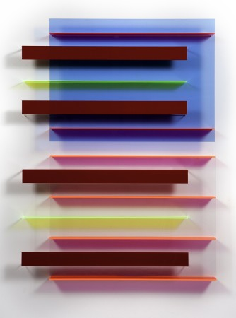 <p><strong>Christian Haub</strong></p><p><i>Keith Moon Float</i>, 2013</p><p>Cast acrylic sheet</p><p>57 x 42 x 3.5 inches</p>