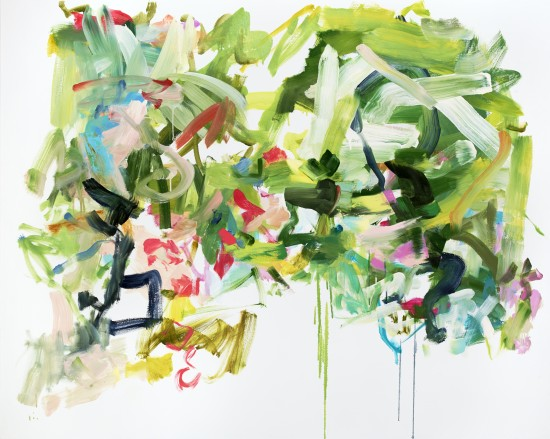 <p><strong>Yolanda Sanchez</strong></p><p><em>Wild Prayers for Earth,</em> 2013</p><p>oil on canvas</p><p>48 x 60 in</p>
