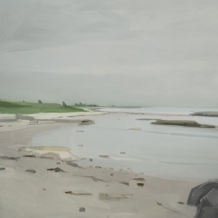 <p><strong>Sara MacCulloch</strong></p><p><i>White Sand Beach</i>&#160;2012</p><p>Oil on canvas</p><p>48 x 48 inches</p>