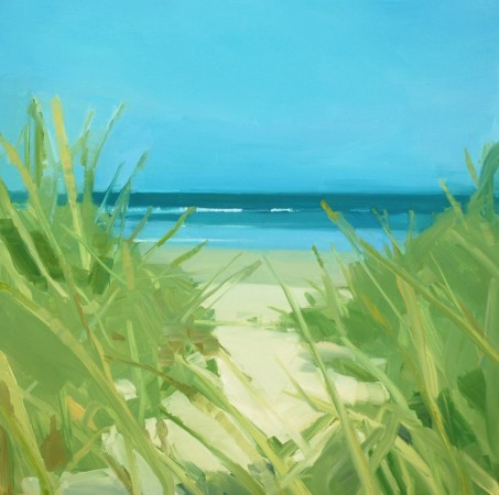 <p><strong>Sara MacCulloch</strong></p><p><i>Clam Harbour&#160;</i>2012</p><p>Oil on canvas</p><p>30 x 30 inches</p>