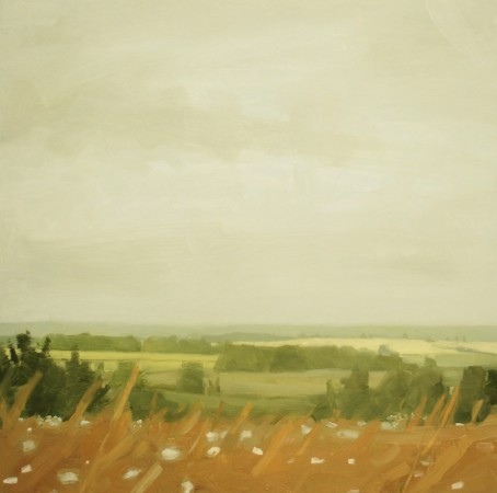 <p><strong>Sara MacCulloch</strong></p><p><i>Fields, August&#160;</i>2012</p><p>Oil on canvas</p><p>30 x 30 inches</p>