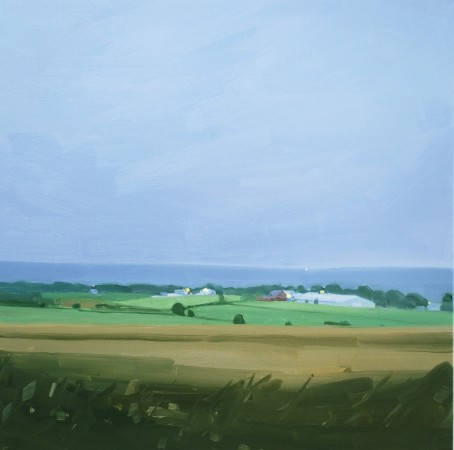 <p><strong>Sara MacCulloch</strong></p><p><i>Kingsport, Dusk</i>&#160;2012</p><p>Oil on canvas</p><p>30 x 30 inches</p>