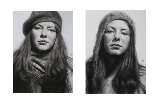 <p>Andrew Tift</p><p>&#34;Katy&#34;</p><p>Charcoal, carbon, graphite and ink on paper</p><p>112 x 63.5 cm</p>