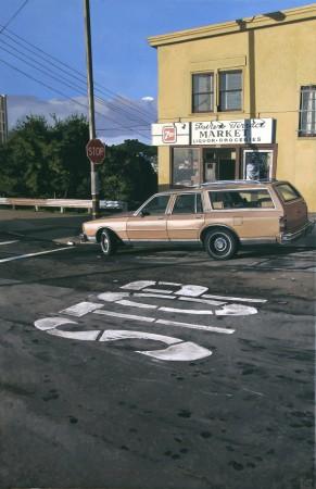 <p>&#34;Potrero Terrace Market&#34;</p><p>Acrylic on canvas</p><p>92 x 60 cm</p>