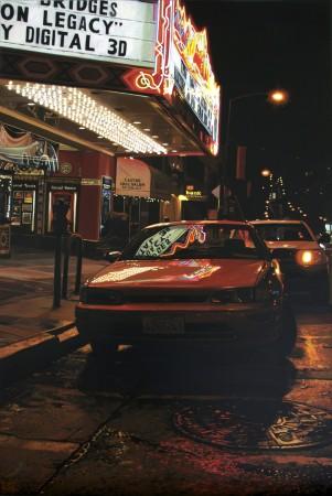 <p>&#34;Neon Lights, Rainy Evening&#34;</p><p>Acrylic on canvas</p><p>46 x 30 cm</p>