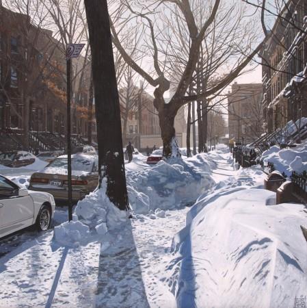 <p>&#34;Snow Storm/NYC&#34;</p><p>Acrylic on canvas</p><p>40 x 40 cm</p>