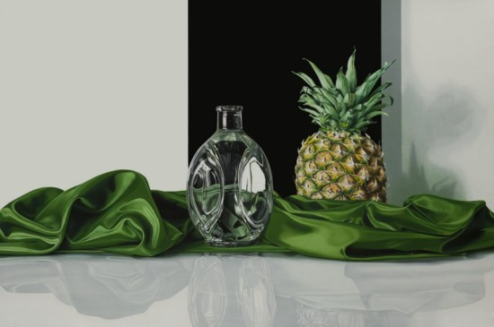 <p>Elena Molinari</p><p>&#34;Pineapple&#34;</p><p>Oil on canvas</p><p>97 x 146 cm</p>