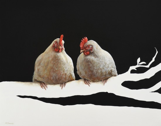 <p><strong>Alexander Klimas</strong></p><p><em>Miep the Chicken and Lellebel the Chicken</em></p><p>&#160;</p>