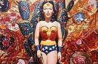 <p>David Parrish<br />Wonder Woman<br /><span>oil on canvas</span><br /><span>170.2 x 255.3 cm</span></p>