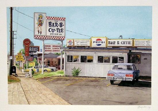 <p><strong><span class=&#34;Title&#34;>John Baeder</span>&#160;</strong></p><p><em>Bar-B-Cutie, Nashville, TN</em></p>