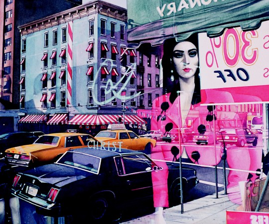 <p>Denis Ryan</p><p>&#34;City Reflections, New York&#34;</p><p>Watercolour</p><p>26 x 32 cm</p>