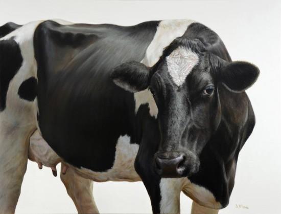 <p>Alexandra Klimas</p><p>&#34;Daisy the Cow&#34;</p><p>Oil on canvas</p><p>100 x 130 cm</p>