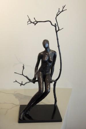 <p>Caroline D'Andlau&#160;</p><p>&#34;Massai Sitting&#34;</p><p>Bronze</p>