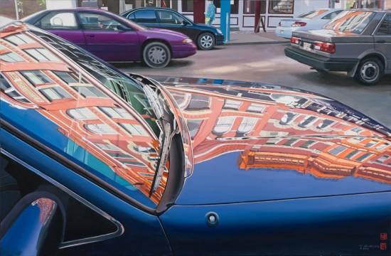 <p>Tad Suzuki</p><p>&#34;Old Town Early Spring&#34;</p><p>61 x 92 cm</p><p>Acrylic on canvas</p>