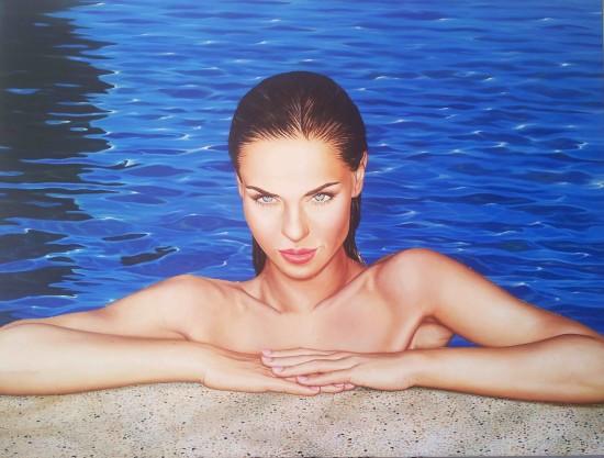 <p>Gustavo Fernandez</p><p>&#34;Seduction&#34;</p><p>Oil on linen</p><p>166 220 cm</p>