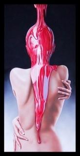 <p>Gustavo Fernandez</p><p>&#34;Liquid Soul&#34;</p><p>Oil on linen</p><p>50 x 100 cm</p>