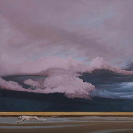 <p>Phillip Harris</p><p>&#34;Storm Dog 3&#34;</p><p>Oil on aluminum</p><p>20 x 20 cm</p>