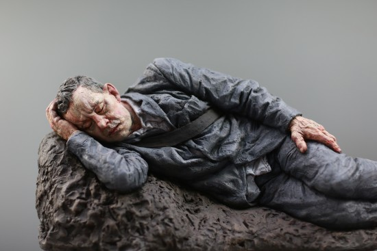Sleeping Pilgrim (after ML) or Cradle, 2020