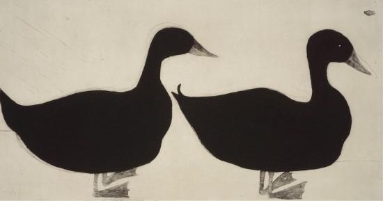<span class=&#34;artist&#34;><strong>Kate Boxer</strong></span>, <span class=&#34;title&#34;><em>Ducks (Mounted)</em></span>