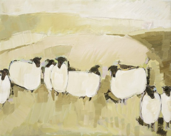 <span class=&#34;artist&#34;><strong>Bridget Lansley</strong></span>, <span class=&#34;title&#34;><em>The Chalk Downs</em></span>