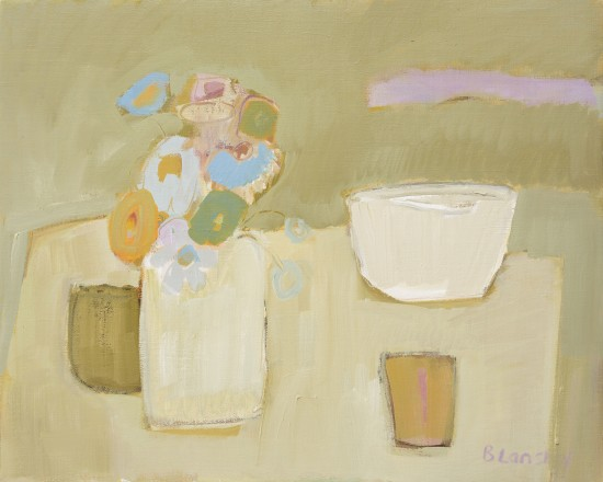 <span class=&#34;artist&#34;><strong>Bridget Lansley</strong></span>, <span class=&#34;title&#34;><em>The White Bowl</em></span>