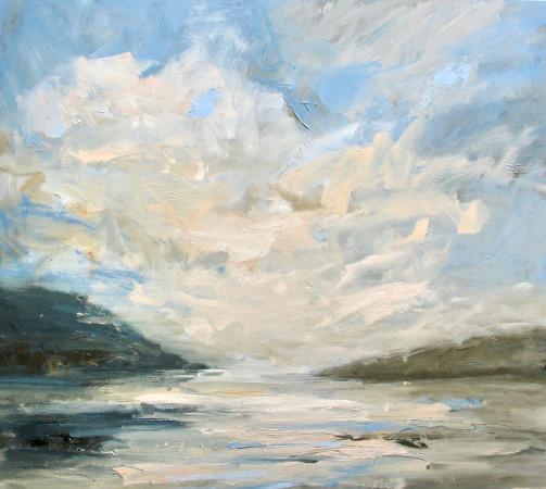 <span class=&#34;artist&#34;><strong>Louise Balaam</strong></span>, <span class=&#34;title&#34;><em>Clouds rising, Applecross, 80x90cm, &#163;4,900,</em></span>