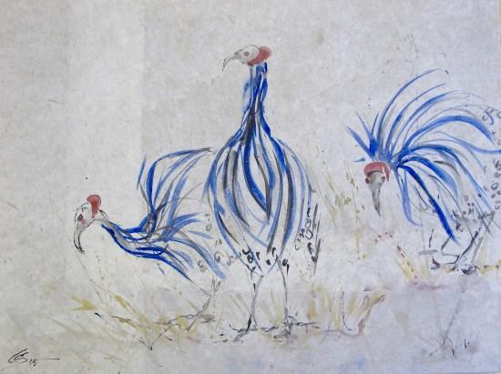 <span class=&#34;artist&#34;><strong>Christine Seifert</strong></span>, <span class=&#34;title&#34;><em>Guinea Fowl</em></span>