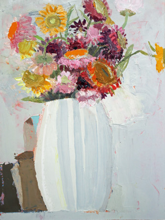 <span class=&#34;artist&#34;><strong>Sydney Licht</strong></span>, <span class=&#34;title&#34;><em>Still Life with Flowers and Boxes</em>, 2016</span>
