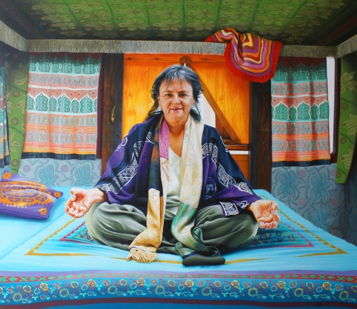 <span class=&#34;artist&#34;><strong>Andrew Tift</strong></span>, <span class=&#34;title&#34;><em>Lisa Law (original New Mexico hippy and photographer)</em></span>