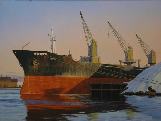 <span class=&#34;artist&#34;><strong>Simon Harling</strong></span>, <span class=&#34;title&#34;><em>Ark</em></span>