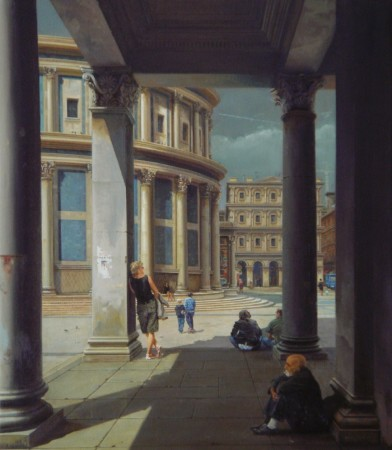 <span class=&#34;artist&#34;><strong>Carl Laubin</strong></span>, <span class=&#34;title&#34;><em>Loggia by the Cathedral</em></span>