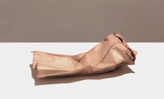 <span class=&#34;artist&#34;><strong>David Bielander</strong></span>, <span class=&#34;title&#34;><em>Paper bag (Croissant)</em>, 2017</span>