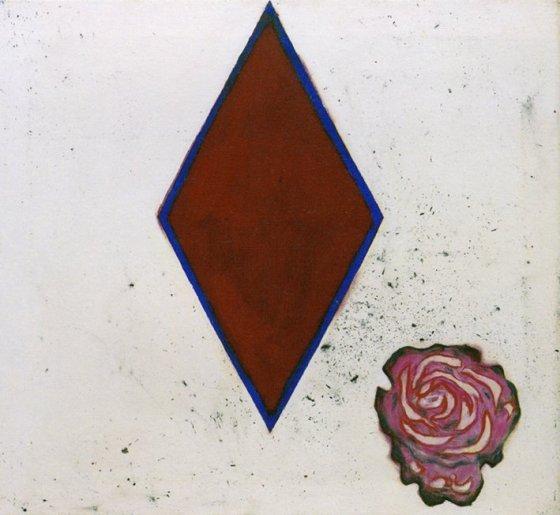 Prunella Clough, Ceramic Rose, 1996