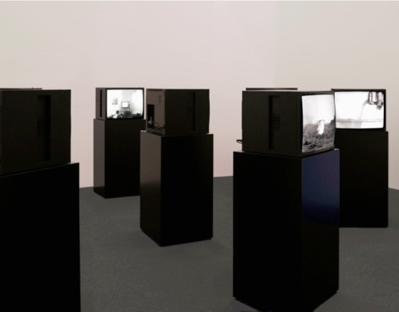 TV Interruptions (7 TV Pieces): Installation Version