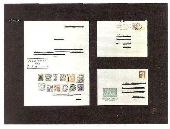 Lettre (ouverte) (Open Letter), 1972