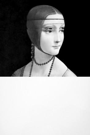 Leonardo, Dama con Ermellino (Leonardo, Lady with an Ermine), 2010